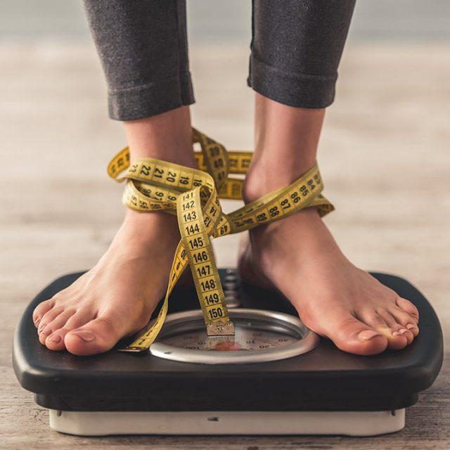 O medo de recuperar o peso perdido